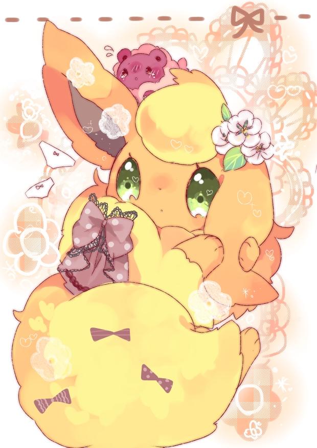 Flareon Pok 233 Mon Mobile Wallpaper 1485037 Zerochan Anime Image Board