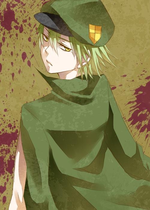 Tags: Anime, Mogi0517, Happy Tree Friends, Flippy, Pixiv, Fanart From Pixiv, Fanart, PNG Conversion, Mobile Wallpaper