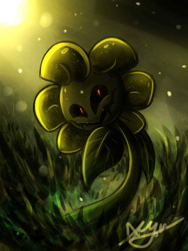 Tags: Anime, Blossom-fur7, Undertale, Flowey