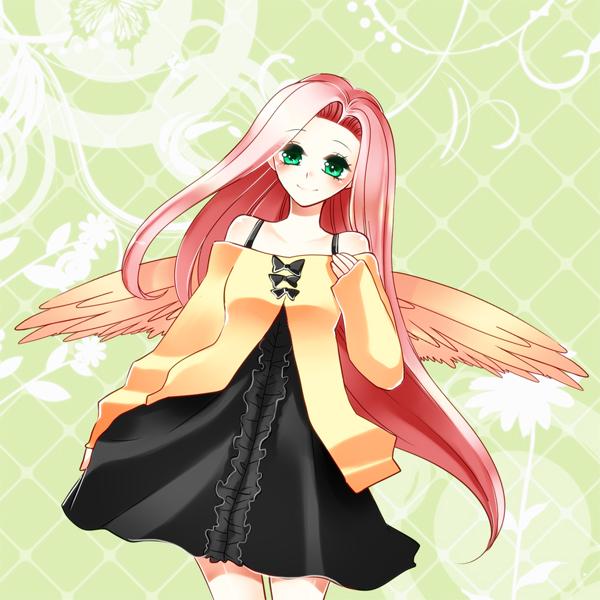 Tags: Anime, Pixiv Id 3619000, My Little Pony, Fluttershy, deviantART, Fanart, Fanart From DeviantART