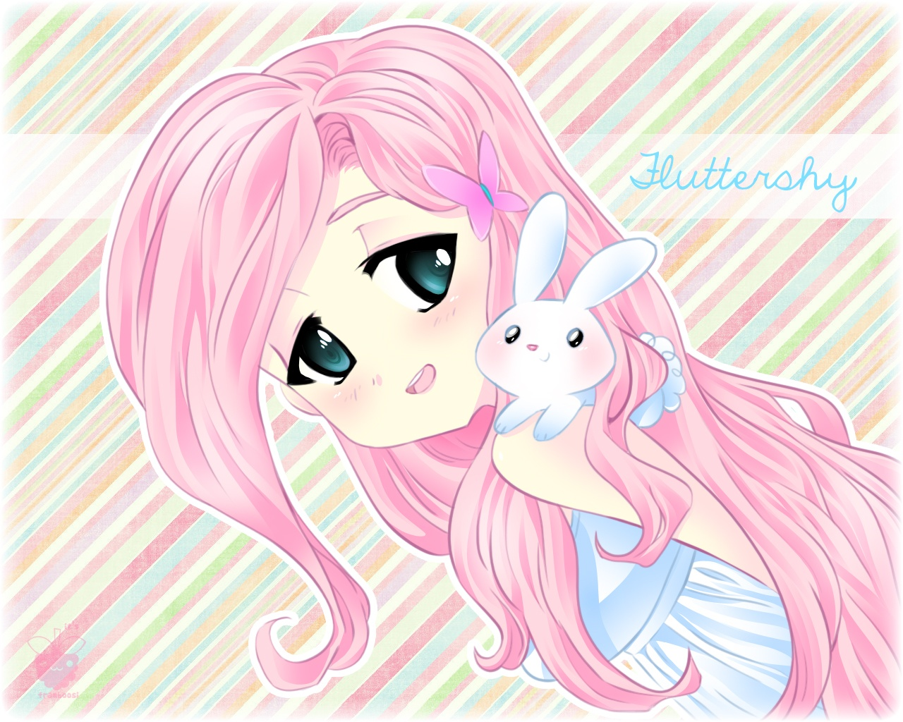 Fluttershy My Little Pony Image 1437818 Zerochan Anime Image Board