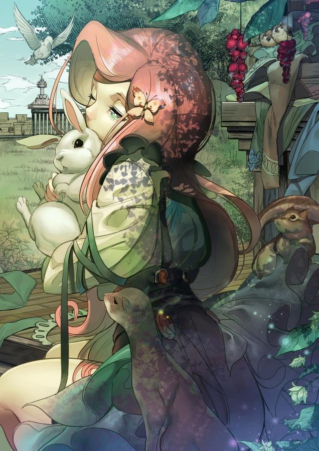 Tags: Anime, Koyoi Mitsuki, My Little Pony, Fluttershy, Gold Skin, Sparrow, Mobile Wallpaper, Fanart From Pixiv, Pixiv, Fanart