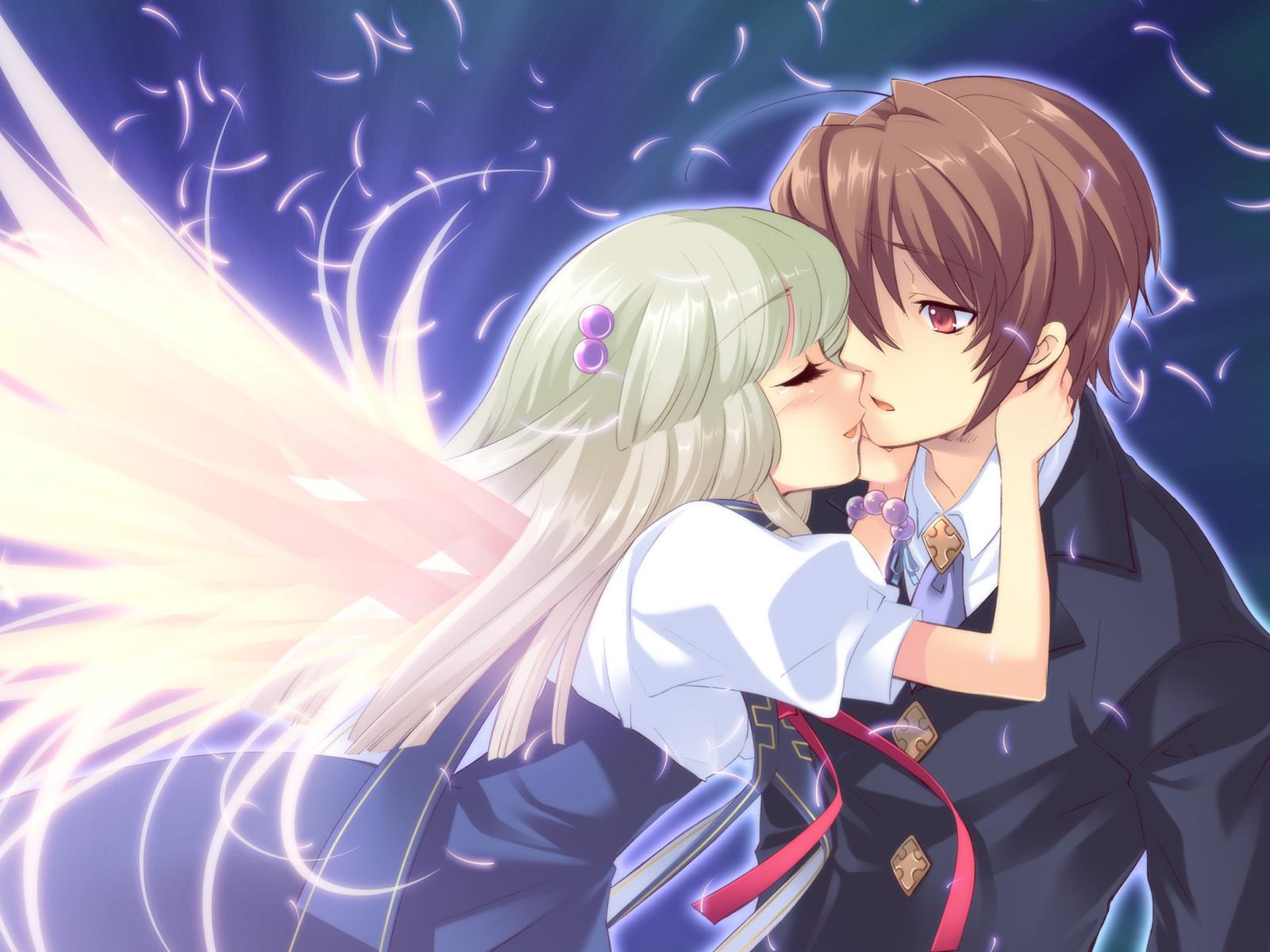 Смотреть онлайн аниме озорной поцелуй 23 фотография