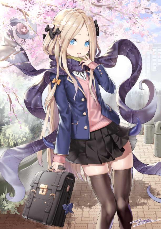 Tags: Anime, TYONE, Fate/Grand Order, Foreigner (Abigail Williams), Fanart, Fanart From Pixiv, Pixiv