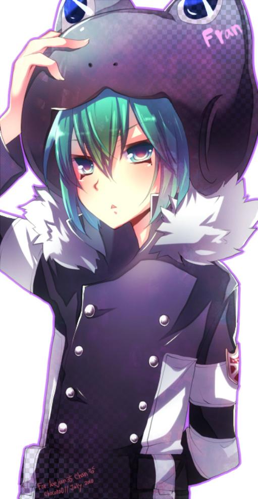 Tags: Anime, Chocoro0, Katekyo Hitman REBORN!, Fran, Varia Uniform, Frog Hat, Fanart, deviantART