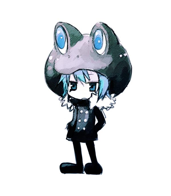 Tags: Anime, Yuzuki Gao, Katekyo Hitman REBORN!, Fran, Frog Hat