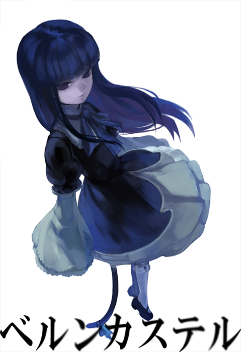 Tags: Anime, Oburaato, 07th Expansion, Umineko no Naku Koro ni, Frederica Bernkastel, Mobile Wallpaper