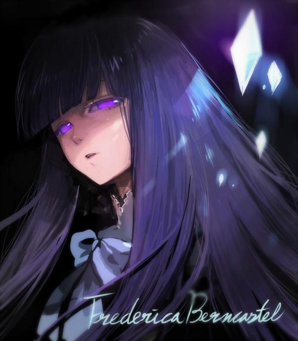 Tags: Anime, Agasang, 07th Expansion, Umineko no Naku Koro ni, Frederica Bernkastel, Pixiv