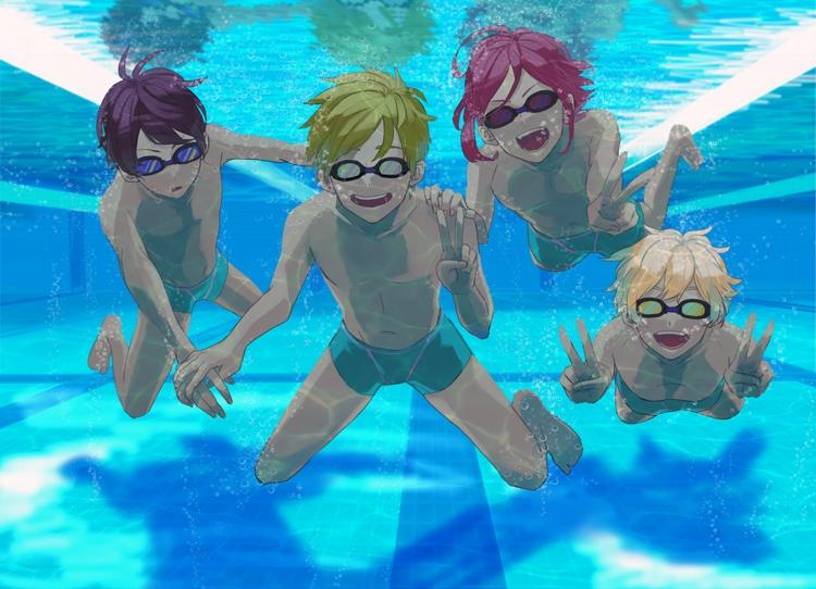 Free gay swimming pics