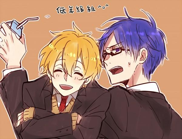 Tags: Anime, Pixiv Id 2236220, Free!, Ryuugazaki Rei, Hazuki Nagisa