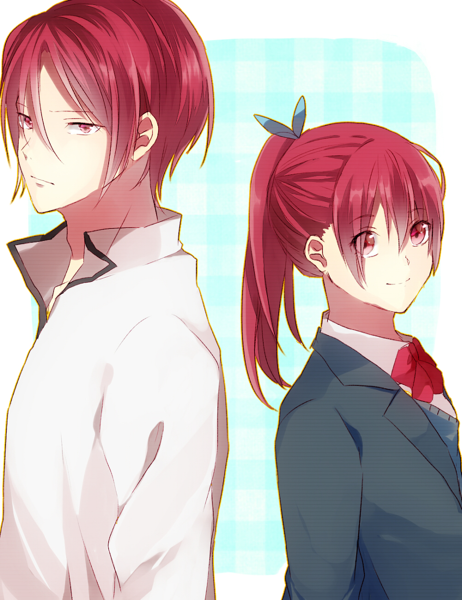 Brother and sister anime
