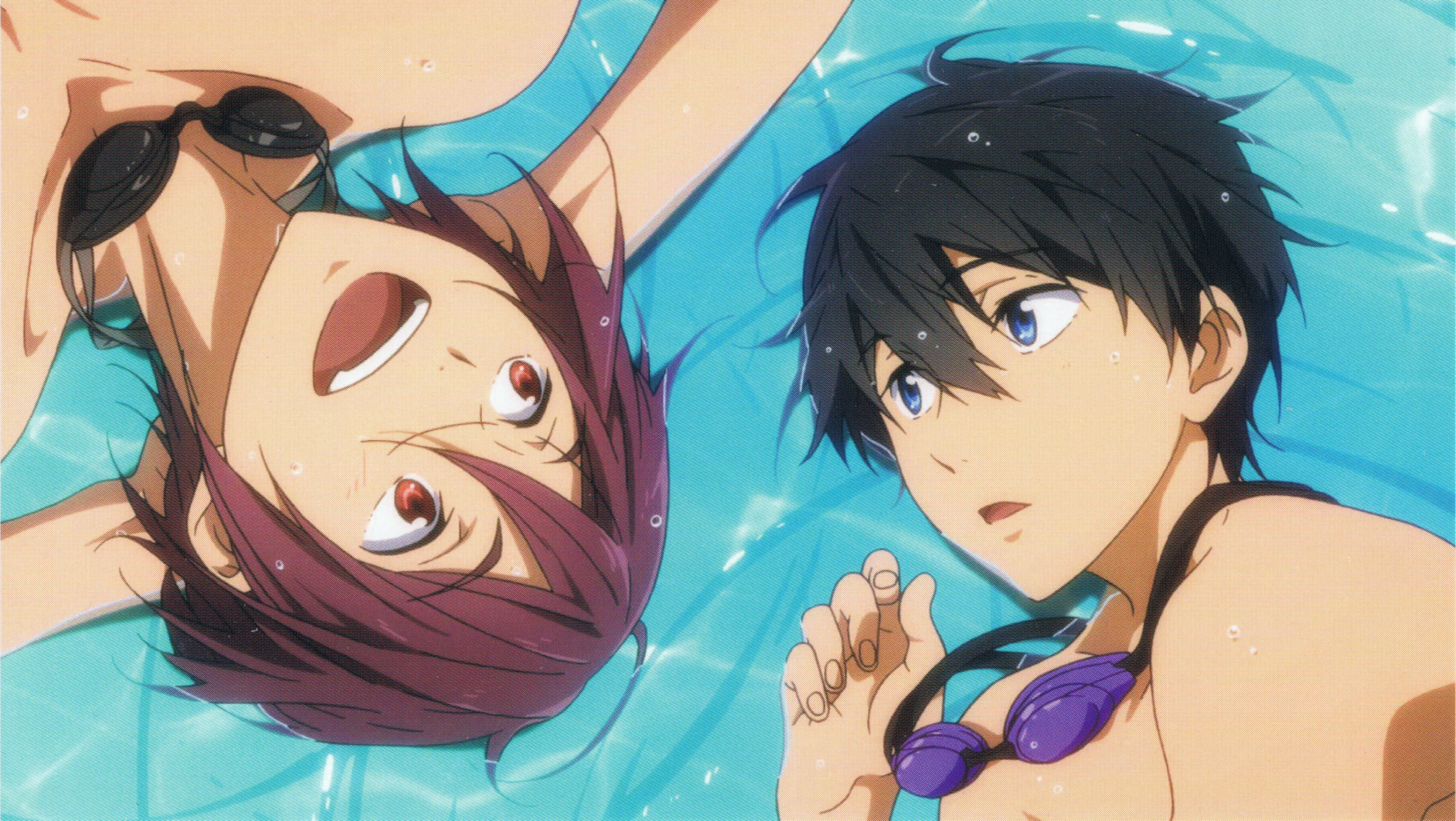 Rinharu Free Zerochan Anime Image Board 'in the name of love' male cover (nightcore version ) link to song nanase haruka vs matsuoka rin but in different pools | free!: zerochan