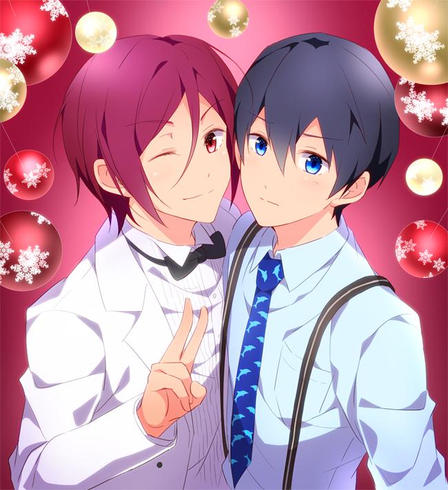 Free Christmas Zerochan Anime Image Board Get notified when pequeñas mentiras| rin matsuoka y tú © is updated. christmas zerochan anime image board