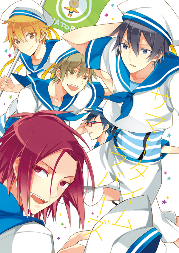 Tags: Anime, Pixiv Id 38034, Free!, Nanase Haruka (Free!), Tachibana Makoto, Matsuoka Rin, Ryuugazaki Rei, Hazuki Nagisa, Fanart From Pixiv, Pixiv, Mobile Wallpaper, Fanart