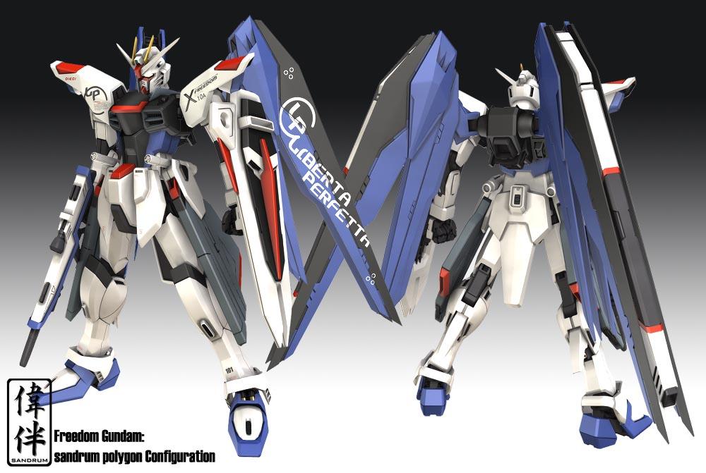 Freedom Gundam - Mobile Suit Gundam SEED Destiny - Image ...