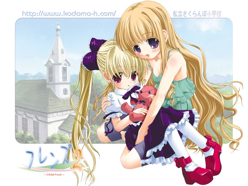 Friends Child Flower Image 80 Zerochan Anime Image Board
