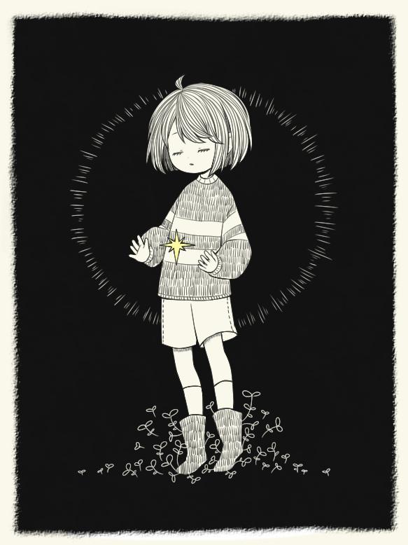 Tags: Anime, ohmyeleanor, Undertale, Frisk, Fanart From Pixiv, Mobile Wallpaper, Pixiv, Fanart