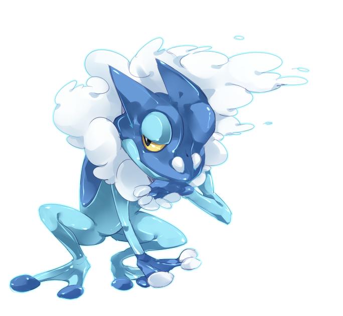 frogadier pokémon zerochan anime image board