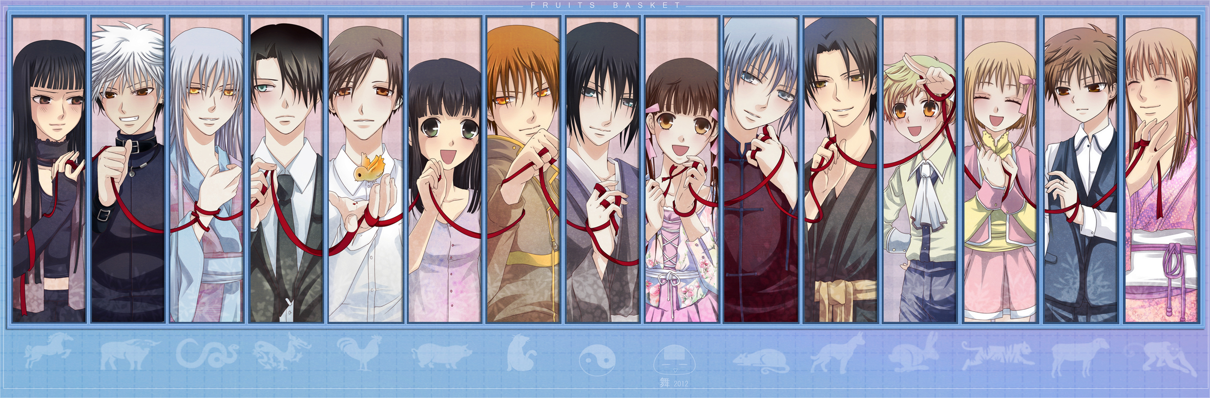 Fruits basket characters with pictures