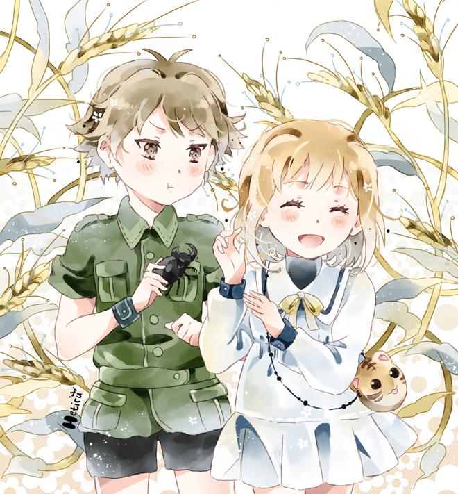 Tags: Anime, Hetiru, Fruits Basket, Sohma Kisa, Sohma Hiro, Beetle, deviantART, Original