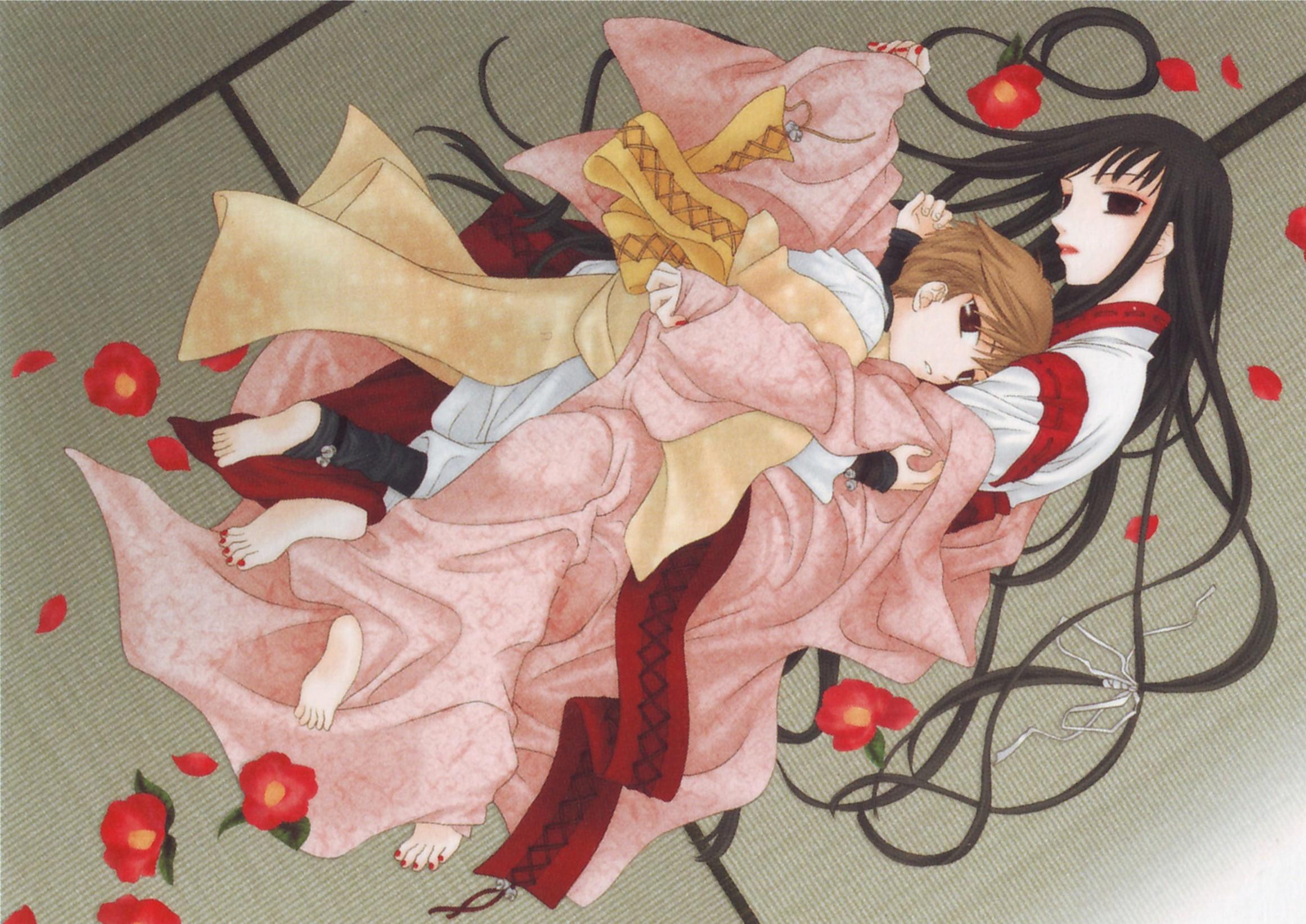 Tags Anime Takaya Natsuki Fruits Basket Sohma Hiro Rin