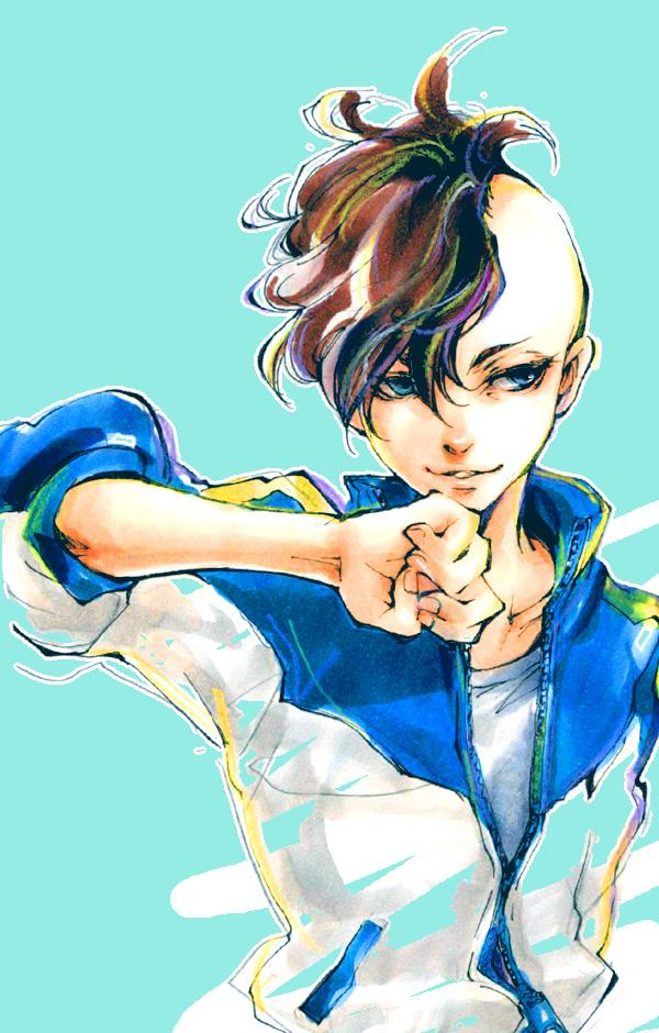 Tags: Anime, Pixiv Id 3279994, Inazuma Eleven, Fudou Akio, Pixiv, Fanart, Fanart From Pixiv