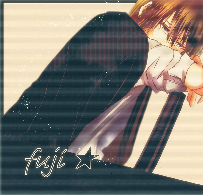 Tags: Anime, Mojimi, Tennis no Ouji-sama, Fuji Shuusuke, Fanart From Pixiv, Pixiv, Fanart