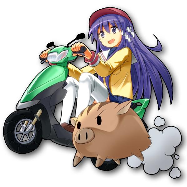 Tags: Anime, Tksymkw, CLANNAD, Botan (CLANNAD), Fujibayashi Kyou