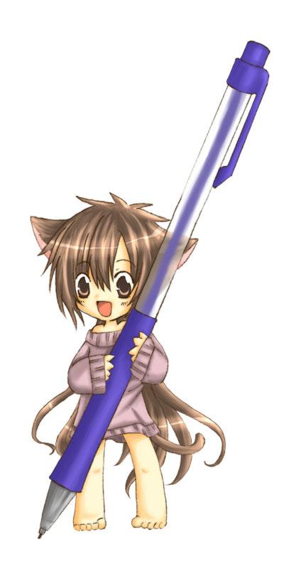 Tags: Anime, Pixiv Id 33731, Suki na Mono wa Suki Dakara Shouganai!!, Fujimori Sunao, Mechanical Pencil, Fanart, Pixiv