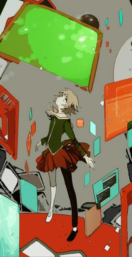 Tags: Anime, Suou, Danganronpa, Fujisaki Chihiro, Fanart, Fanart From Pixiv, Pixiv