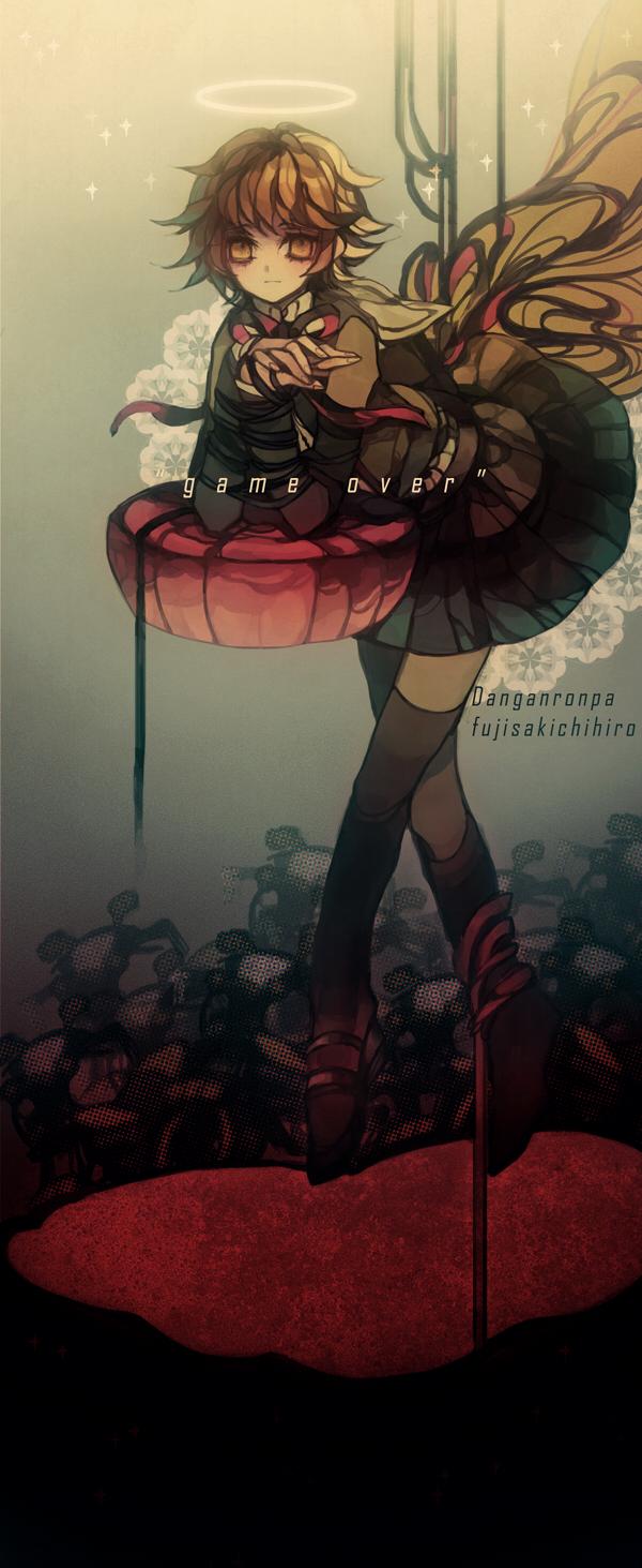 Tags: Anime, Pixiv Id 7097817, Danganronpa, Fujisaki Chihiro, Fanart From Pixiv, Pixiv, Fanart