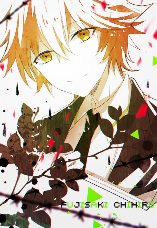Tags: Anime, zxs1103, Danganronpa, Fujisaki Chihiro, Mobile Wallpaper, Pixiv, Fanart, Fanart From Pixiv