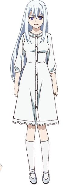 Tags: Anime, Karasu Hiroaki, ARMS (Studio), Gokukoku no Brynhildr, Fujisaki Mako, Cover Image, Official Art
