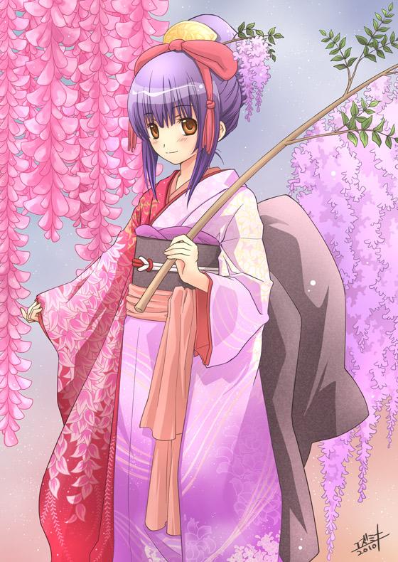 Tags: Anime, Shugo Chara!, Yamato Maihime, Fujisaki Nadeshiko, Mobile Wallpaper