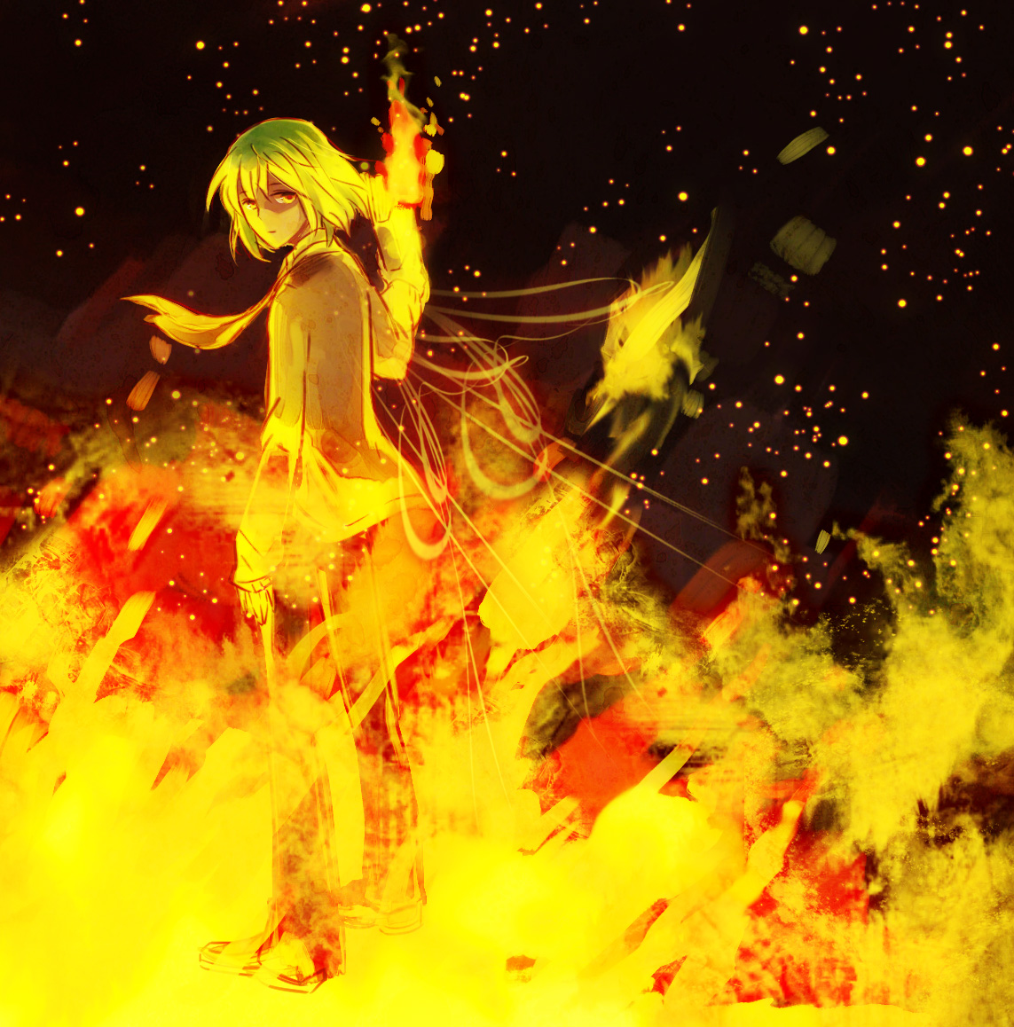 Nageki Fujishiro Fire