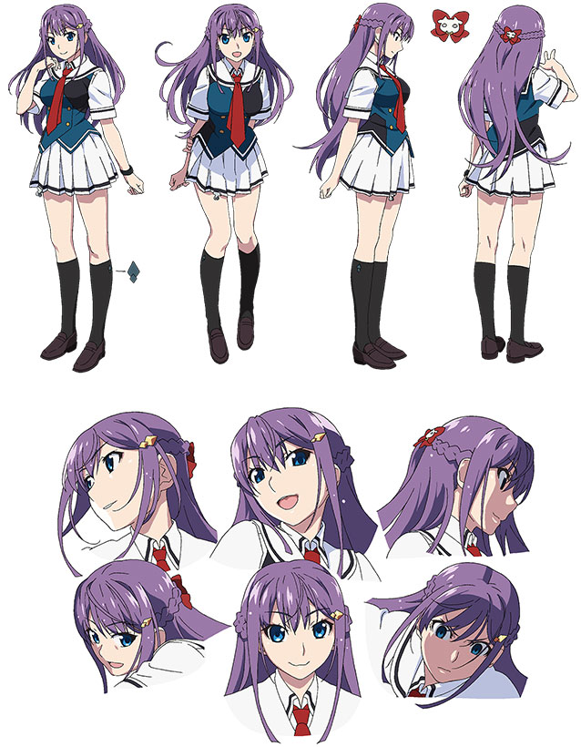 Tags: Anime, Watanabe Akio, Bibury Animation Studio, Grisaia: Phantom Trigger, Fukami Rena, Official Art