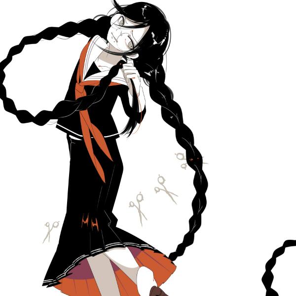 Tags: Anime, Shikimi, Danganronpa, Fukawa Touko, Pixiv, Fanart, Fanart From Pixiv