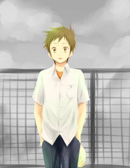 Tags: Anime, Rito, Hyouka, Fukube Satoshi, Fanart, Fanart From Pixiv, Pixiv