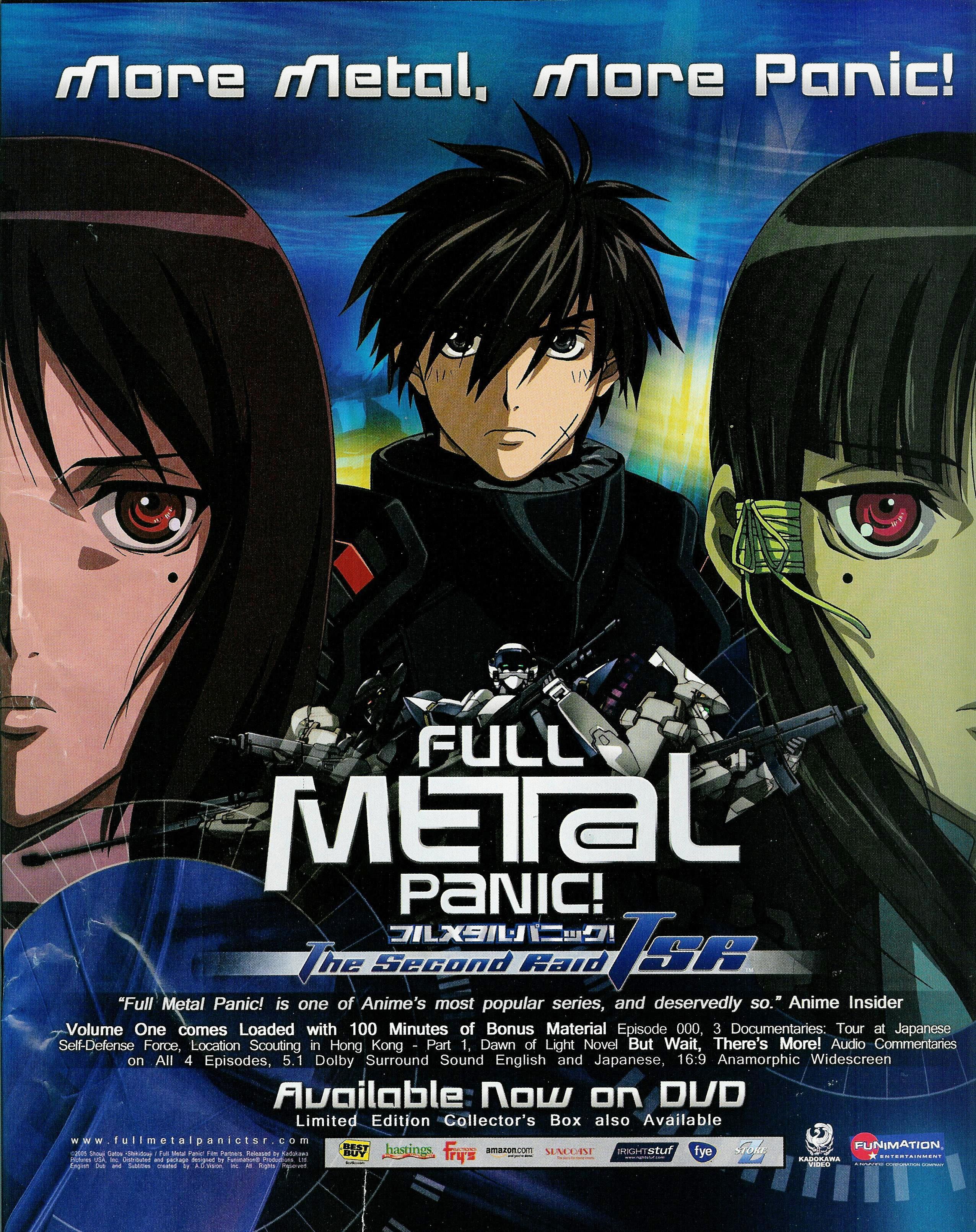 Xia Yu Fan - Full Metal Panic! - Zerochan Anime Image Board