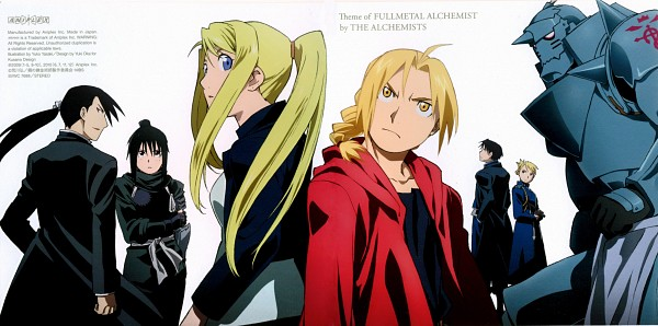 Tags: Anime, Arakawa Hiromu, Fullmetal Alchemist Brotherhood, Fullmetal Alchemist, Edward Elric, Ling Yao, Greed/Greeling