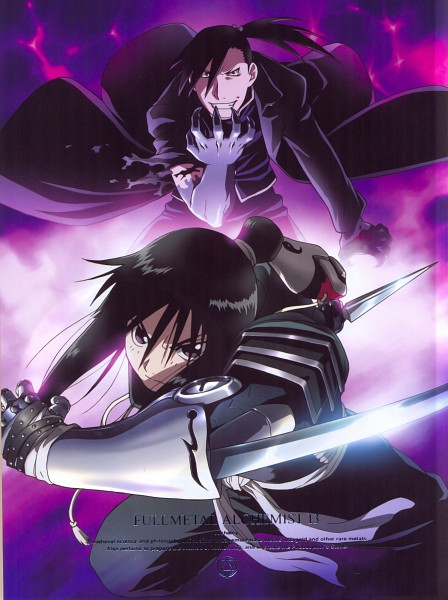Tags: Anime, Arakawa Hiromu, Fullmetal Alchemist Brotherhood, Fullmetal Alchemist, Lan Fan, Greed/Greeling, Ling Yao