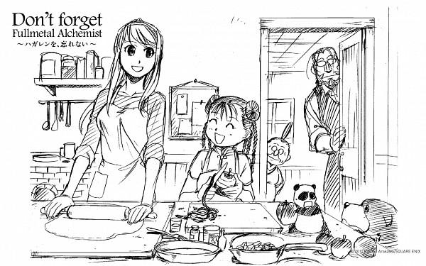Tags: Anime, Arakawa Hiromu, SQUARE ENIX, Fullmetal Alchemist Brotherhood, Fullmetal Alchemist, Den (FMA), Van Hohenheim