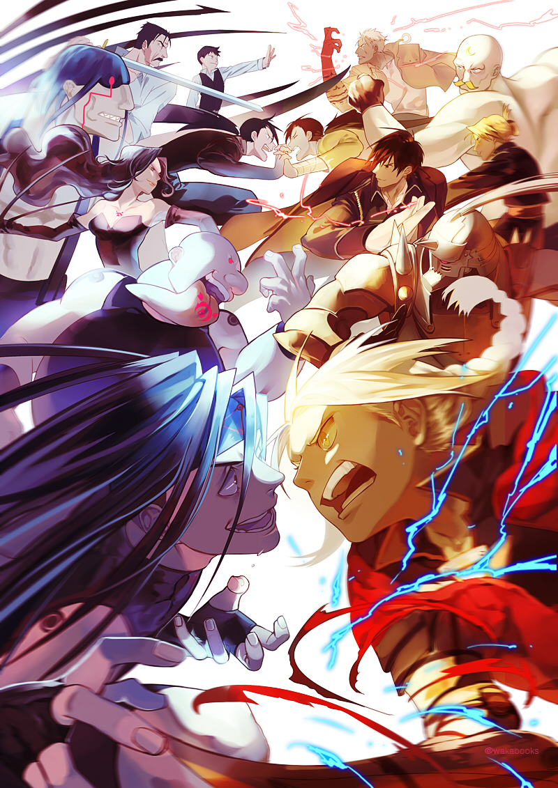 95 Fav Fullmetal Alchemist Brotherhood