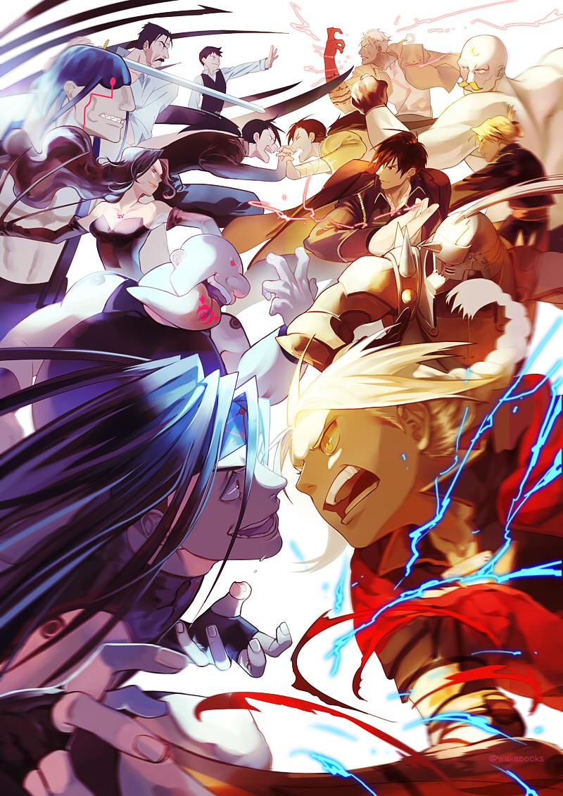 Fullmetal Alchemist: Brotherhood Rollen