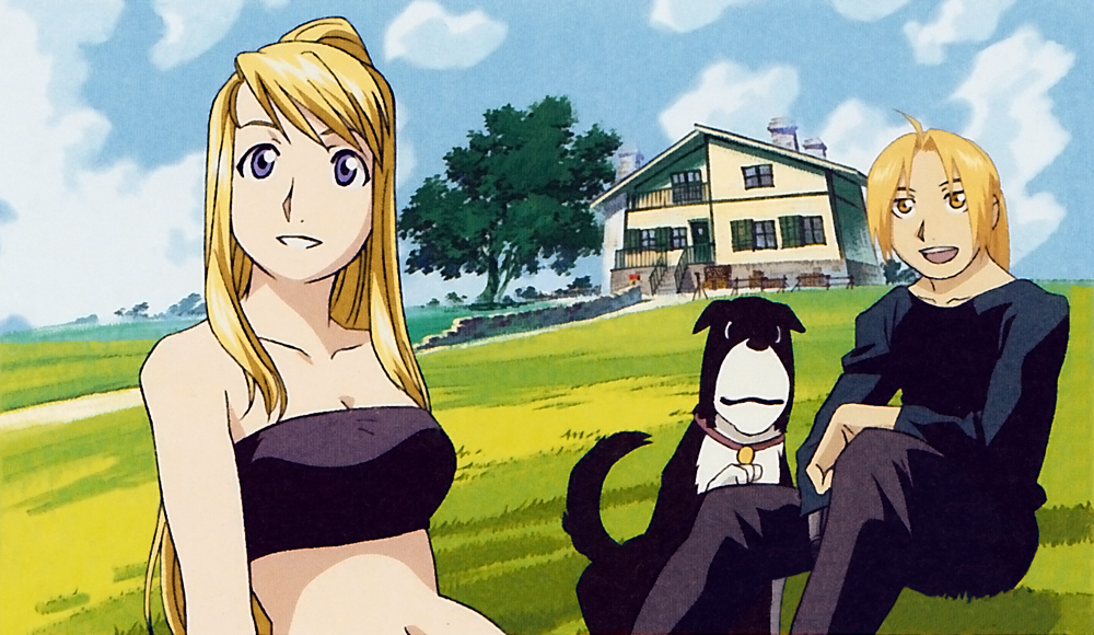 blonde den winry and - photo #7