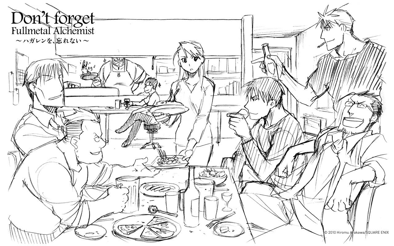 arakawa hiromu zerochan anime image board