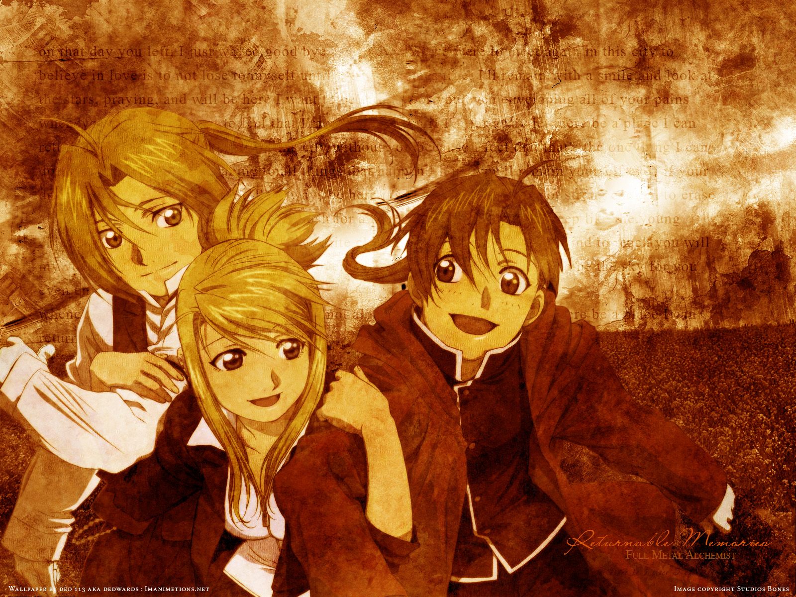edward elric e winry rockbell imagens Ed Winry wallpaper and