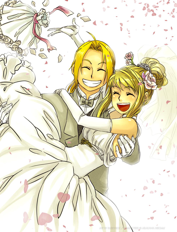 Edward Elric And Winry Rockbell Married Fullmetal Alchemist/#3...