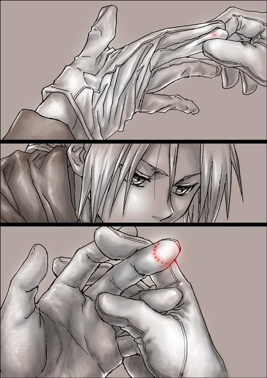 Tags: Anime, Pixiv Id 624571, Fullmetal Alchemist, Edward Elric, Envy (FMA), Comic, Mobile Wallpaper, Homunculi