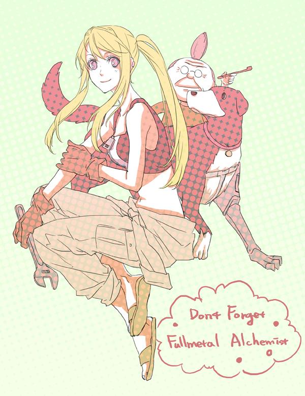 Pinako Rockbell - Fullmetal Alchemist - Zerochan Anime ...